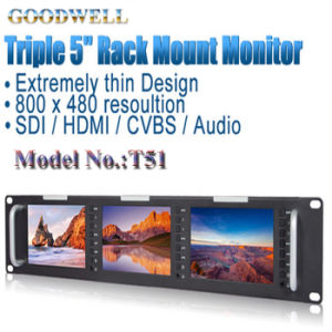 Sdi HDMI AV Input 5 Inch LCD Monitor pictures & photos