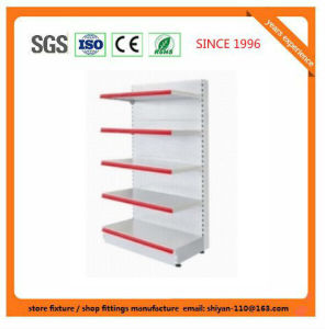 Metal Supermarket Shelf Store Retail Fixture for Bolivia 081310 pictures & photos