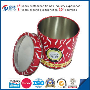 PVC Window Round Shaped Watch Box pictures & photos
