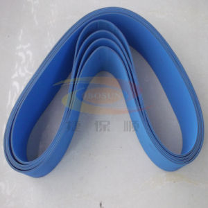 Sky Blue Flat Belt (no tooth) pictures & photos