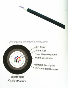 China Factory Supply Access Building Optical Fiber Cable Crush Resistance and Flexible LSZH Material Jacket ABC-I Fiber Optic Cable Price List pictures & photos