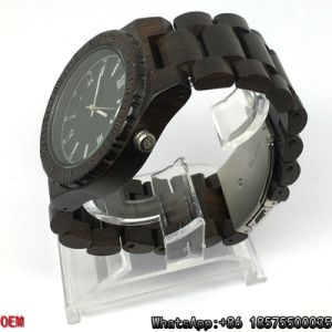Top-Quality Ebony-Wooden Watches Quartz Watches pictures & photos