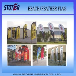 High Quality Promotion Beach Flag for Sale