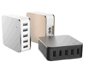 USB Fast Charger with 5 USB Ports pictures & photos