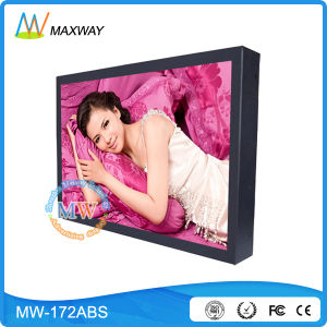 17 Inch LCD Advertising Display Screen with High Brightness Optional (MW-172ABS) pictures & photos