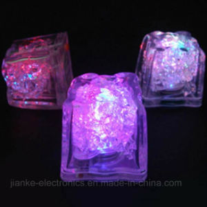 Flashing Light Reusable Ice Cubes with Logo Printed (3188) pictures & photos