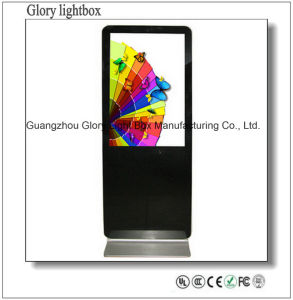 65 Inch Hotel LCD Advertising Player Kiosk pictures & photos