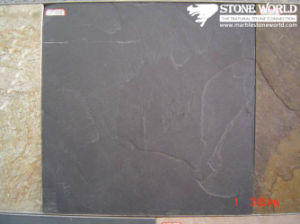 Black Slate Tiles for Wall/Flooring (mm092) pictures & photos