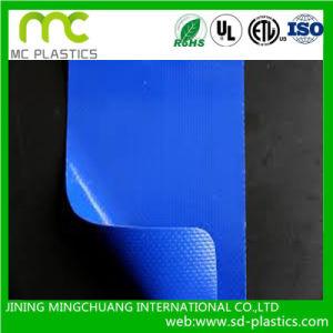 Transparent PVC Laminated Tarpaulin for Curtains pictures & photos