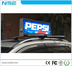 P5 Taxi Top Outdoor Electronic Advertising LED Display Screen pictures & photos