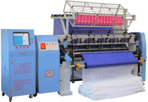 Computer Shuttle Lock Stitch Multi Needle Quilting Machine for Hometextiles pictures & photos