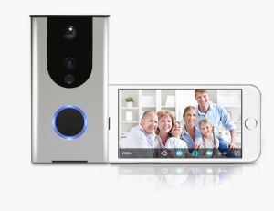 Motion Sensor Night Vision Network WiFi IP Video Doorbell for Home Security pictures & photos