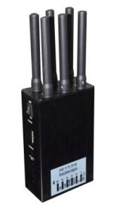 6CH Handheld Jammer Signal Jammer Signal Blocker Wi-Fi Bluetooth 2g 3G 4G Cellular Phone Jammer pictures & photos