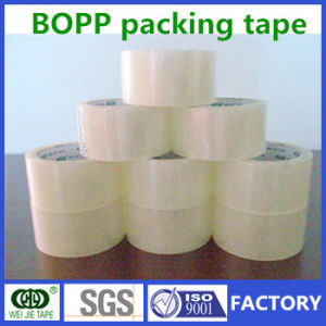 High Quality BOPP Self Adhesive Packaging Easy Tear Tape in Rolls pictures & photos