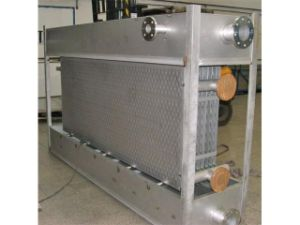 Welded Stainless Steel Plate Falling-Film Heat Exchanger pictures & photos