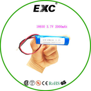 18650 2200mAh 3.7V lithium Battery pictures & photos