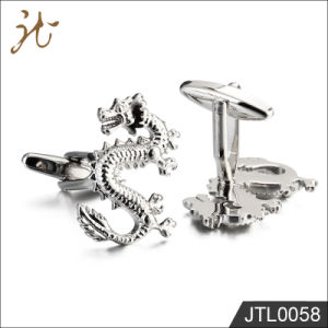 Fashion Nice Quality Dragon Design Men′s Cuff Buttons Hot Sale pictures & photos