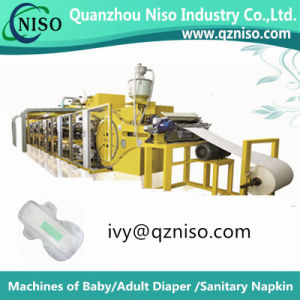 Economic Semi-Automatic Feminine Pad Machine Manufacture (HY400) pictures & photos