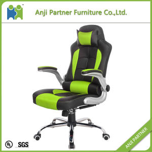Orange PU and PVC Upholstered Racing Gaming Chair (Agnes) pictures & photos