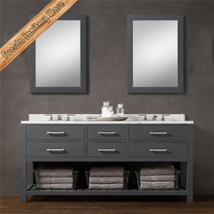 High Quality Customized Furniture Washroom Bathroom Vanity Cabinet with Mirror pictures & photos