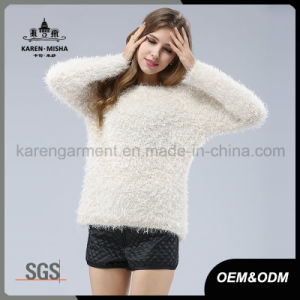 Winter Fur Soft High Quality Long Pullover pictures & photos