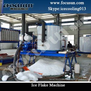 Top Grade Best Selling Flake Ice Machine/Maker pictures & photos