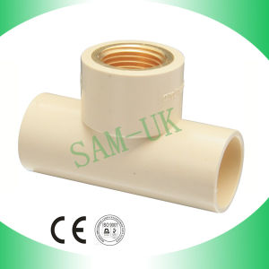 High Quality CPVC Copper Fittings Threaded Female Tee pictures & photos