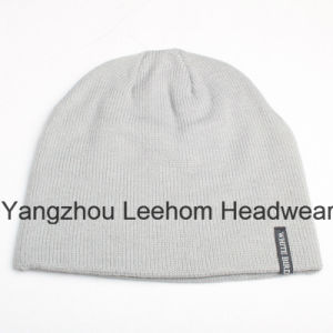 Winter Fashion Warm Outdoor Promotional Knitted Beanie Hat pictures & photos
