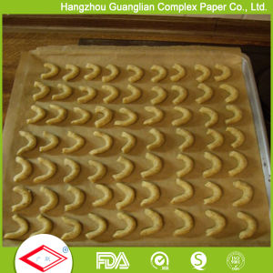 400*600mm Unbleached Brown Silicone Baking Paper Oven Pan Liners pictures & photos