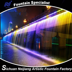 River Waterfall on Bridge Fountain pictures & photos