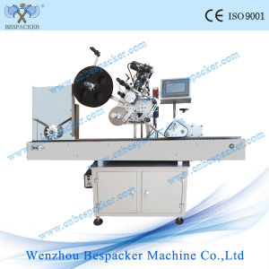 Semi-Auto Round Bottle Labeling Machine Label Sticker pictures & photos