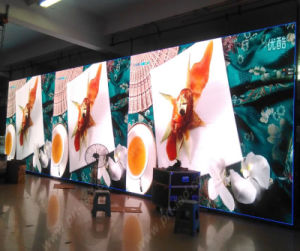 Hot Sale P3.91 Full Color Indoor LED Board with 500X500mm Panel pictures & photos