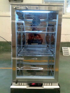 One Door Upright Back Bar Cooler with Stainless Steel pictures & photos