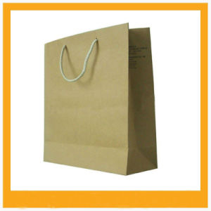 Newly Craft Paper Shopping Bags pictures & photos