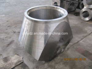 Hot Forged Saddle-Type Nozzle Flange of Material A105 pictures & photos