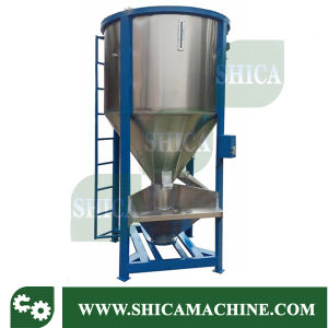 Vertical Type Plastic Pellets Color Mixer pictures & photos