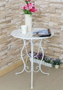 Wrought Iron Indoor and Outdoor Furniture Folding Table pictures & photos
