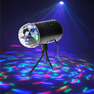Full Colour LED Crystal Rotating Ball Light pictures & photos