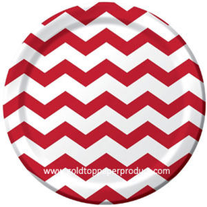 Disposable Paper Plates Celebration & Party pictures & photos