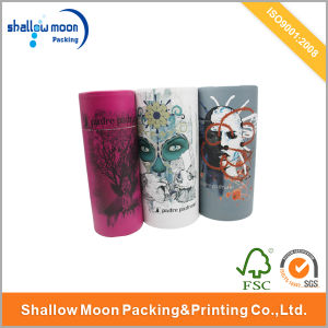 Customized Printing Round Packaging Paper Box (QYCI15175) pictures & photos