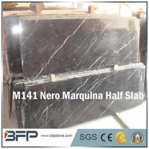 M141 Nero Marquina Marble Slab for Countertop/Vanity pictures & photos