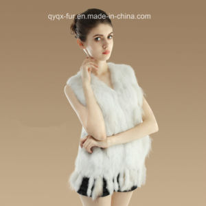 2015 Newest Style Rabbit Fur Vest for Lady pictures & photos