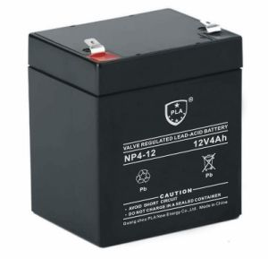 High Performance 12V4ah Valve Regulated Lead Acid Battery