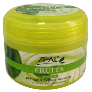 Zeal Face Care Kiwifruit &  Yoghurt Moisturizing Facial Mask 100ml pictures & photos
