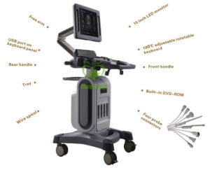 My-A034A Medical Equipment Full Digital 4D Doppler Ultrasound Scanner pictures & photos