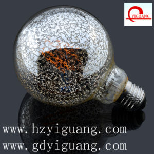 Special Silver Design LED Light Bulb G95