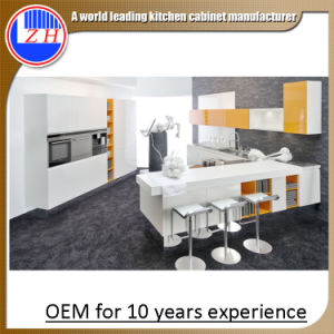 2015 China New Modular Laminate MDF Kitchen Cabinets (zhuv) pictures & photos