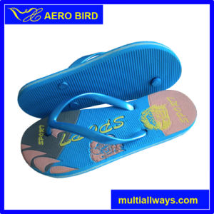 New Design Colorful Print Flip Flops for Lady & Man pictures & photos