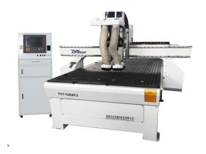 High Efficiency CNC Engraving Amchine, CNC Router with 2 Spindles pictures & photos