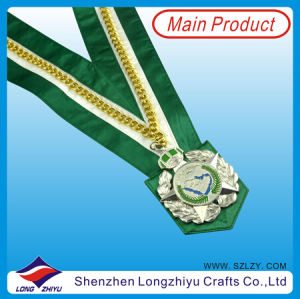 Gold Medal with Wide Lanyard pictures & photos